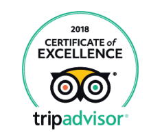 Tripadvisor Certificate of Excellence 2018 200h